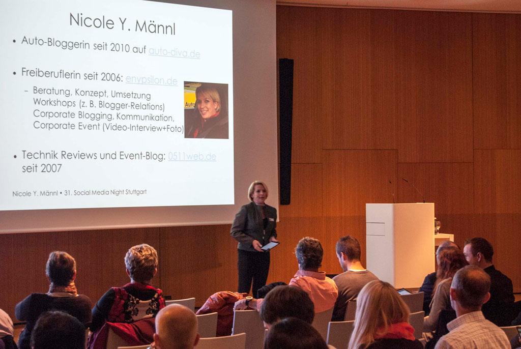 Social Media Night Stuttgart – Die Krux des Auto-Bloggers
